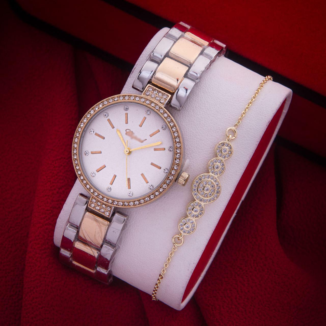 Montre Et Bracelet Chic
