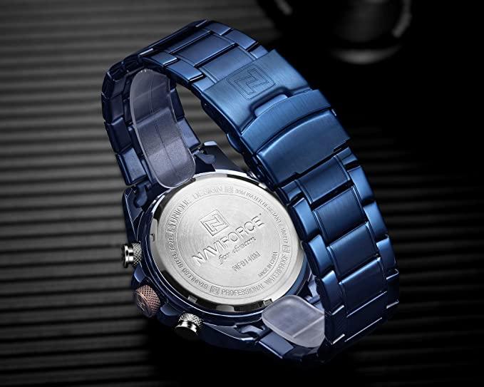 Montre Homme - 9146s Bewbe- Bracelet Acier inoxydable