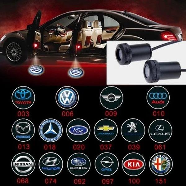 أضواء شعار السيارة