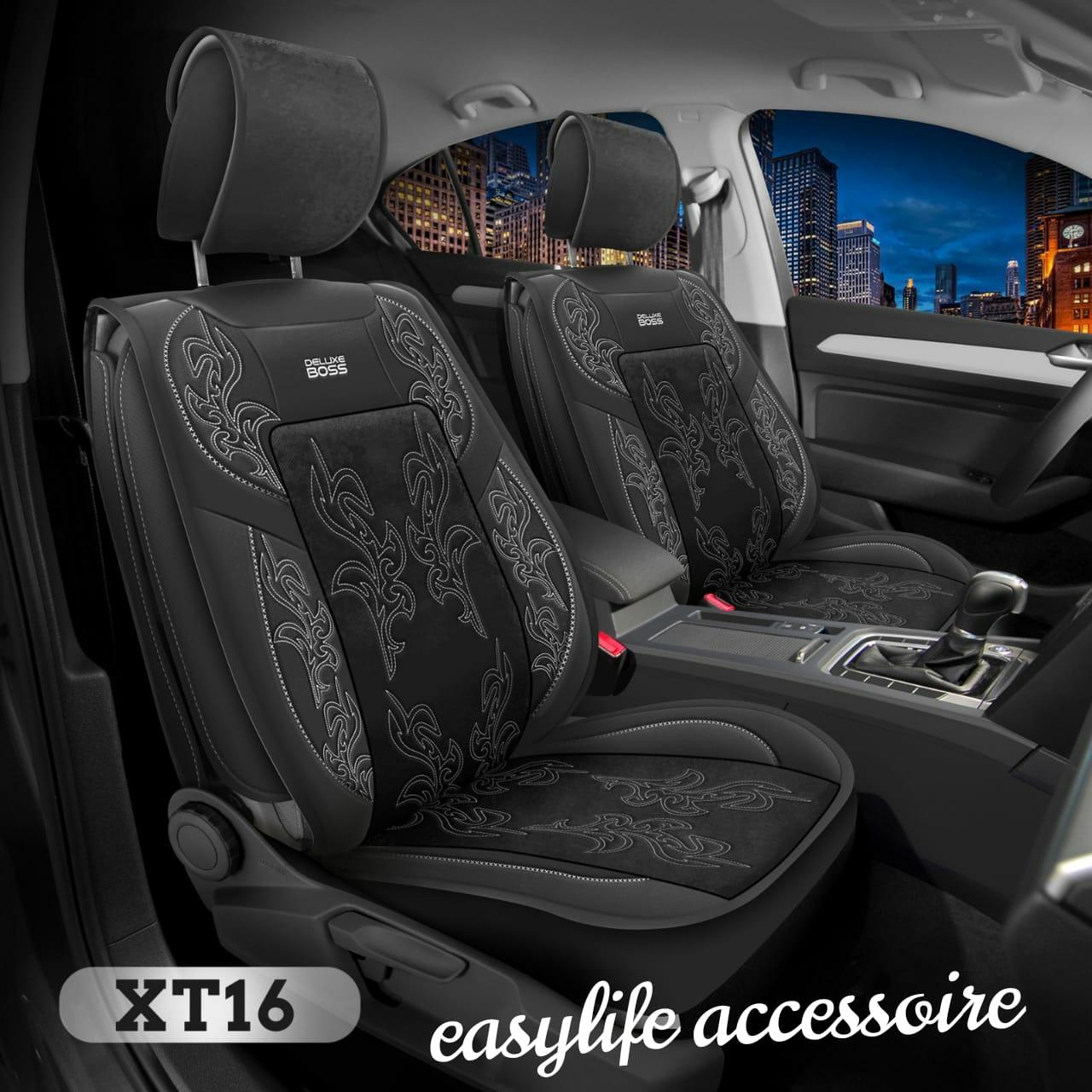 vip tissu غلاف مقاعد السيارة