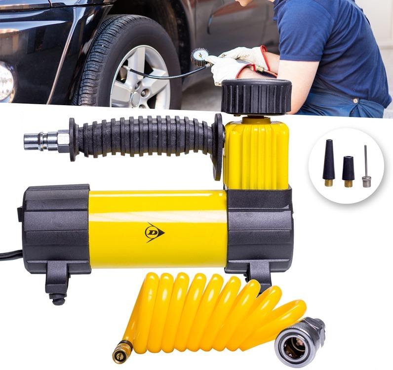 ضاغط هواء 12 فولت لنفخ عجلات سيارتك
