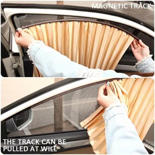 Pare-soleil magnétique de voiture (4piece)