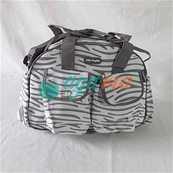Sac à Langer 4 Pièces Baby Kingdom Zebra