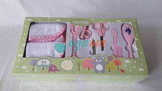 Trousse de Soin & de Toilette pour Bébé, 8 Accessoires