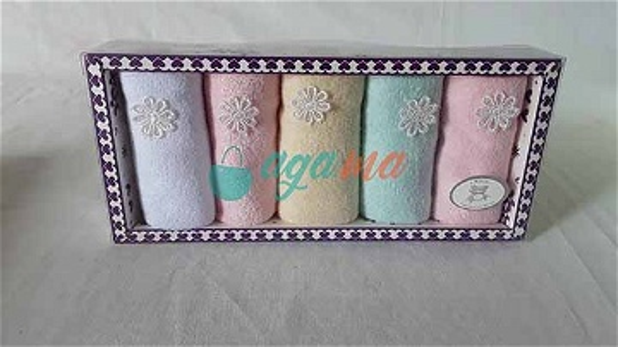 Lot de 5 serviettes d'allaitement pour bébé - Petit mouchoir carré - Convient à tous les âges