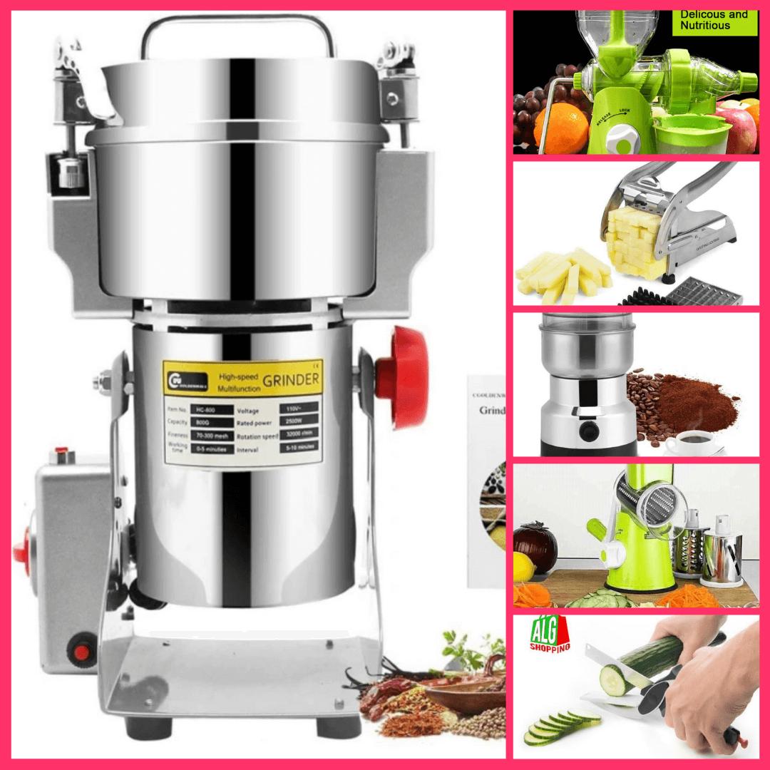 آلة طحن القهوة والأرز وجميع التوابل - متعددة الإستعمالات 500 غرام + هدية مُرفقة