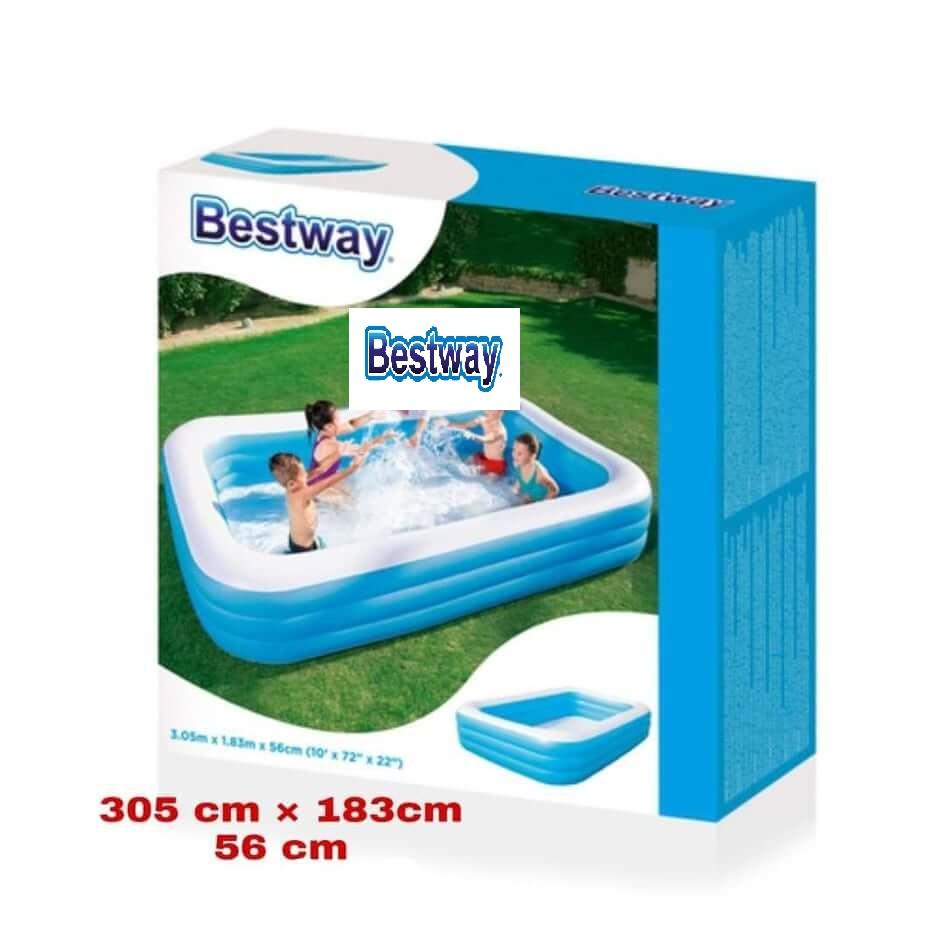 حوض السباحة المنزلي - مستطيل الشكل بطول 3 متر