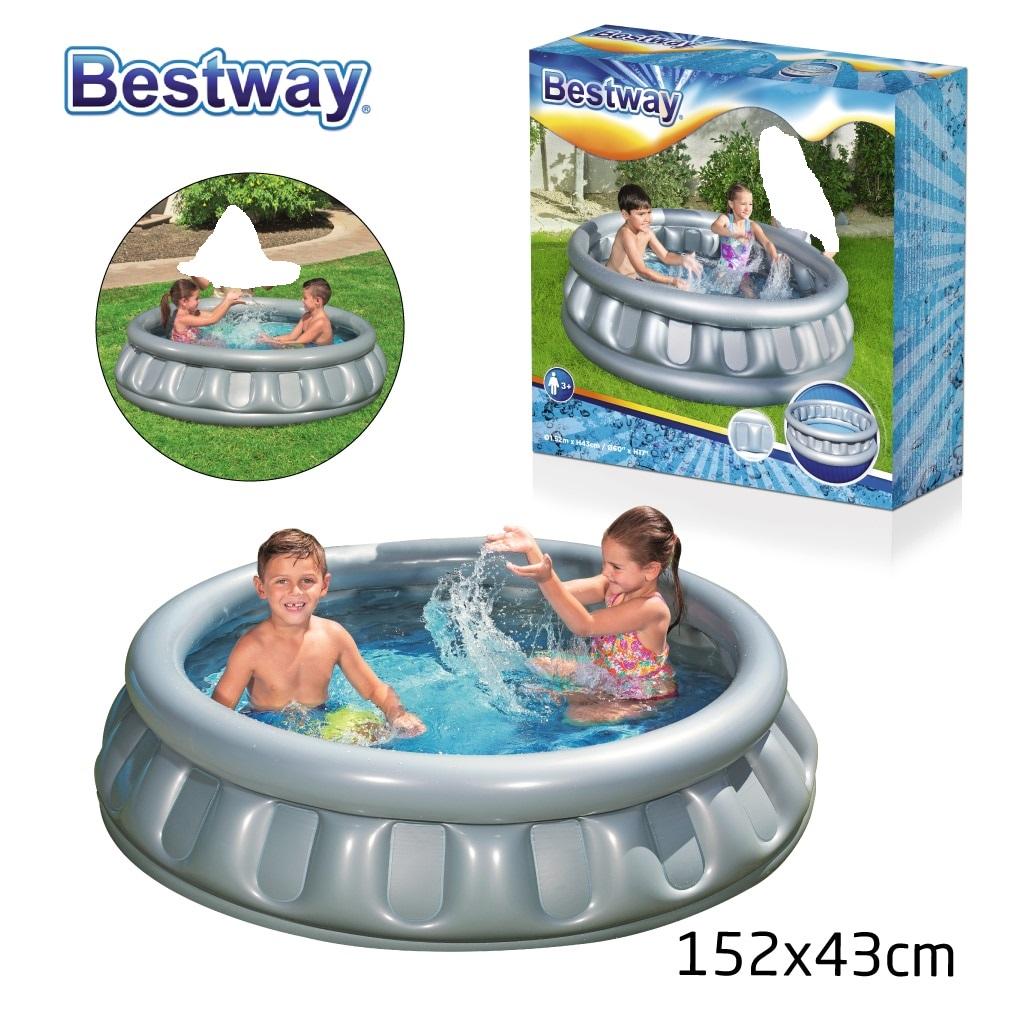 حوض السباحة المنزلي - تصميم دائري - 1.52 متر