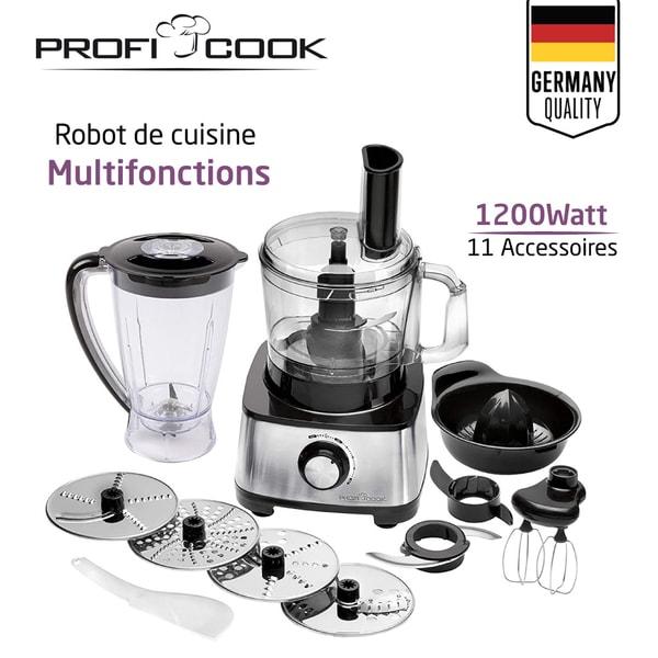 Proficook Robot Ménager Multifonctions 11 En 1  Pc-Km 1063