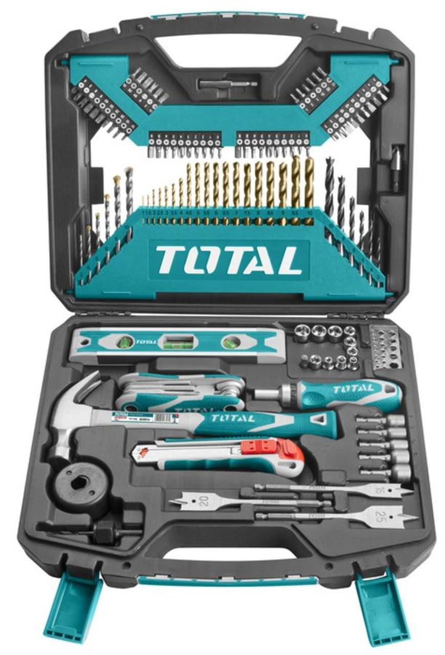 Valise  à outils 120 pcs TOTAL
