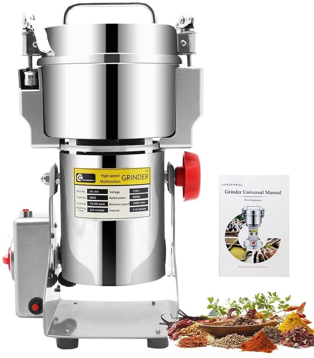 آلة طحن القهوة والأرز وجميع التوابل - متعددة الإستعمالات 1 كغ