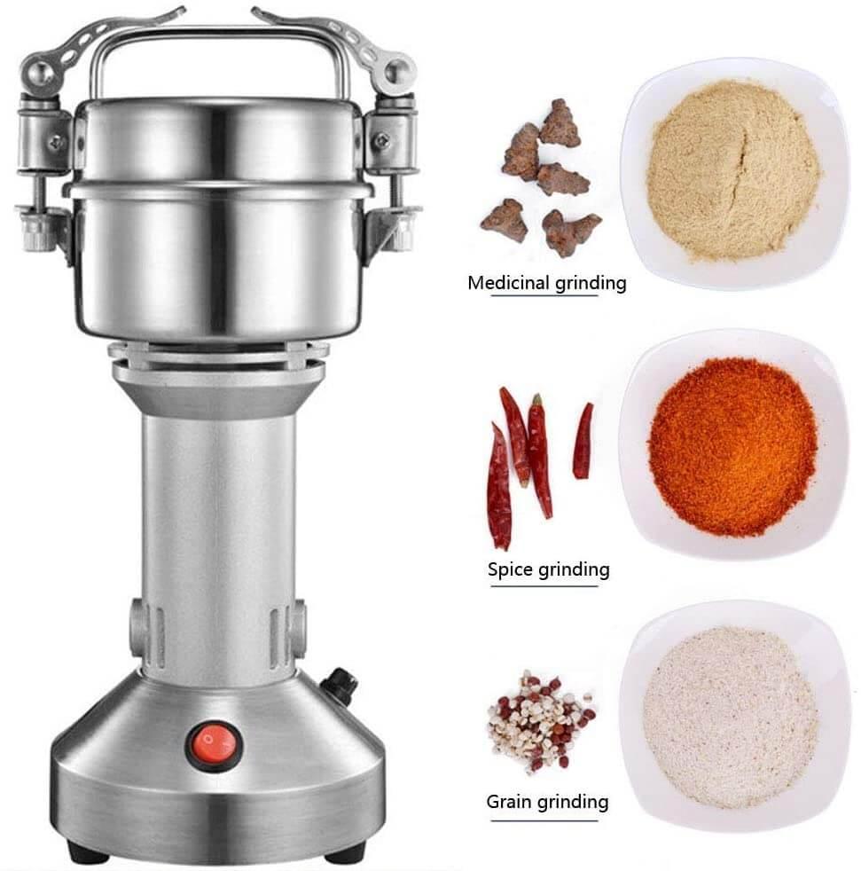 آلة طحن القهوة والأرز وجميع التوابل - متعددة الإستعمالات 200 غرام