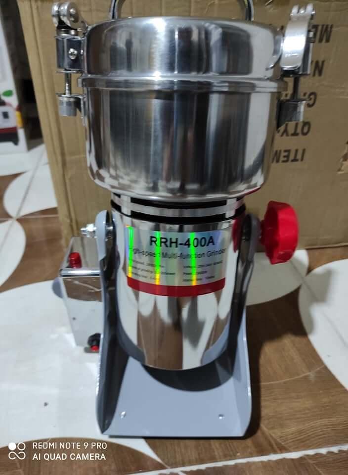 آلة طحن القهوة والأرز وجميع التوابل - متعددة الإستعمالات 400 غرام
