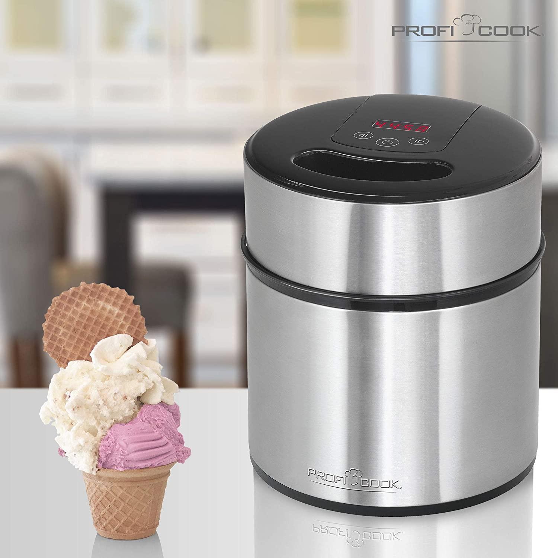 Machine pour glaces, sorbets, yaourts PC-ICM 1140