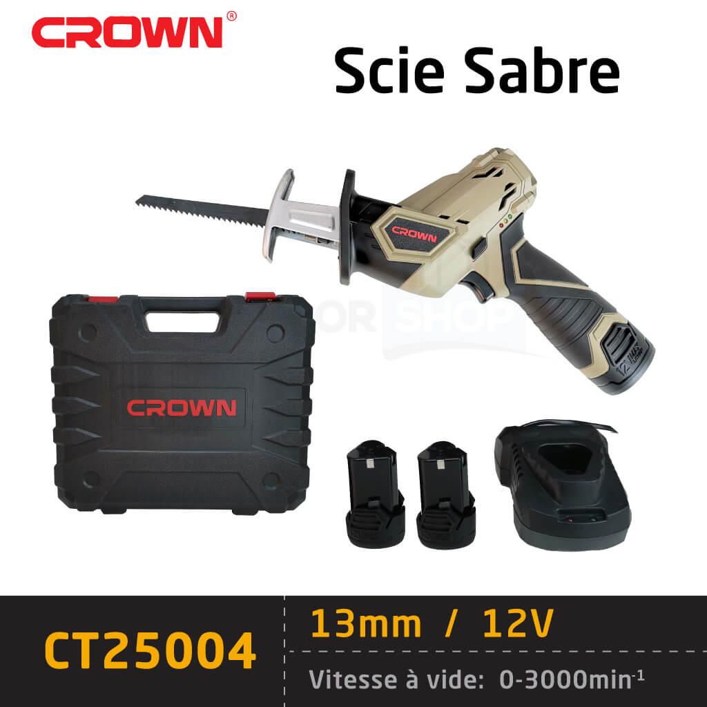 Scie sabre crown sans fil Ct25004