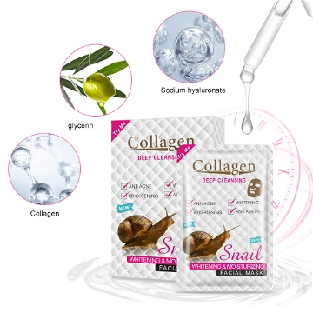 قناع كولاجين الحلزون-collagen