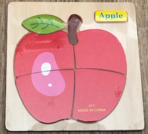 jouet éducatif en bois pour enfant  Théme FRUITS
