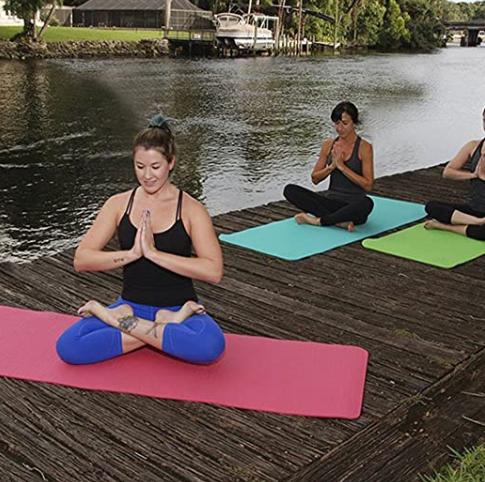 Tapis Yoga, Tapis d'exercice, Tapis de Yoga et Fitness en Mousse