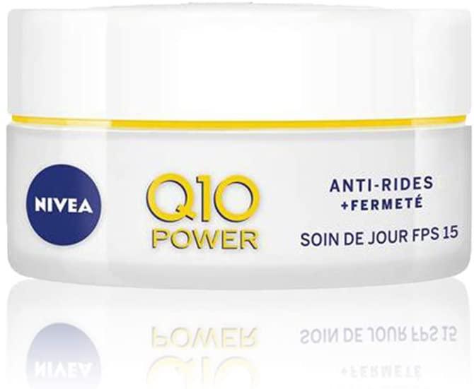 NIVEA Q10 Power Soin de Jour Anti-Rides +Fermeté FPS15 50ml