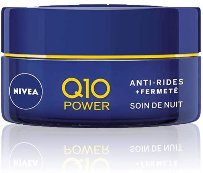 NIVEA Q10 Power Soin de Nuit Anti-Rides +Fermeté 50ml