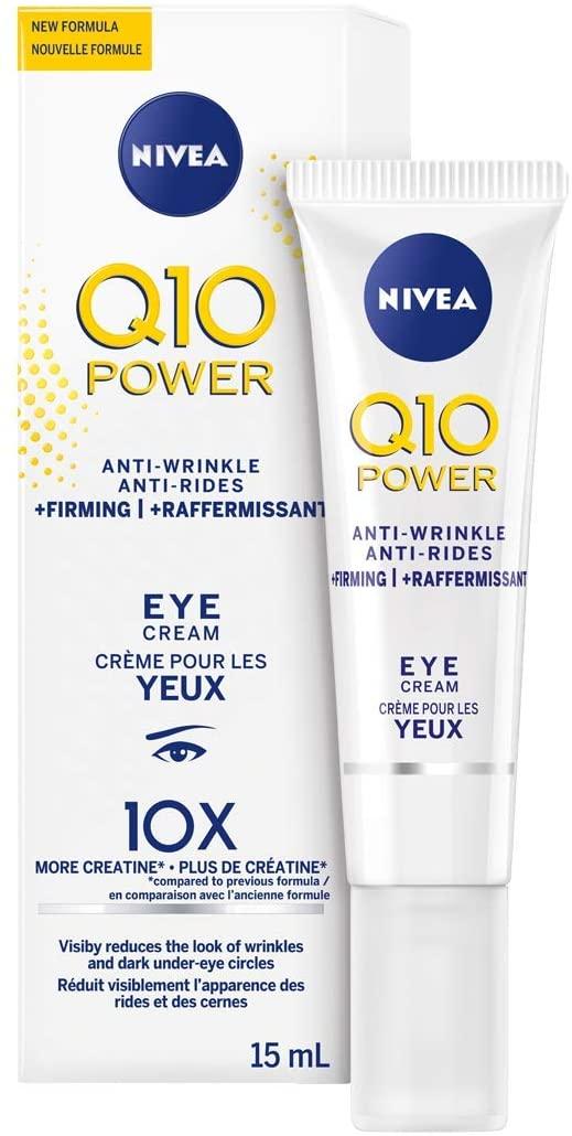 Nivea Q10 POWER Crème anti-rides + raffermissante pour les yeux 15 ml