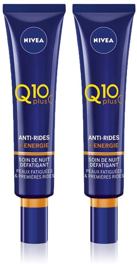 Nivea Q10 Plus C Soin de Nuit Anti-Rides +Énergie 40 ml