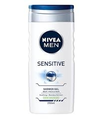 Nivea Men gel douche  SENSITIVE  (250ML)