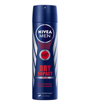 NIVEA MEN Déodorant Spray DRY (200ml)