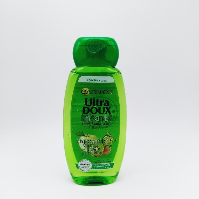 Ultra  doux enfants Garnier a la pomme verte et kiwi 200 ml
