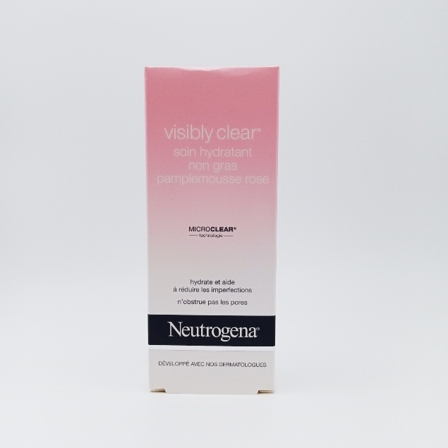Neutrogena Visibly Clear SOIN HYDRATANT NON GRAS PAMPLEMOUSSE ROSE 50ml