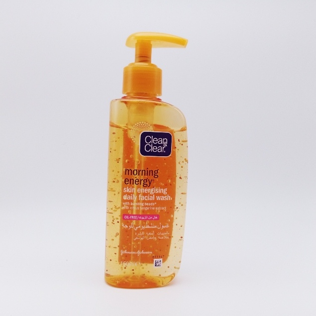 Clean And Clear Morning Energy Face Wash – 150ml / gel nettoyant visage
