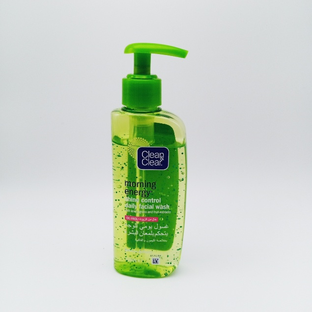 Clean & Clear - Morning Energy Shine Control Daily Facial Wash - 150ml/ gel nettoyant visage .