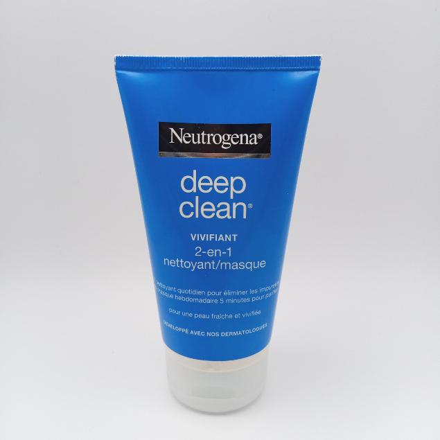 Deep clean Neurogèna  2 EN 1 nettoyant/masque