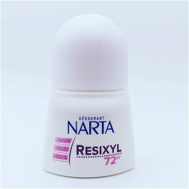 Anti-transpirant - Anti-odeur + Anti-humidité + Régulation des pics de transpiration RESIXYL FEMME 50ML