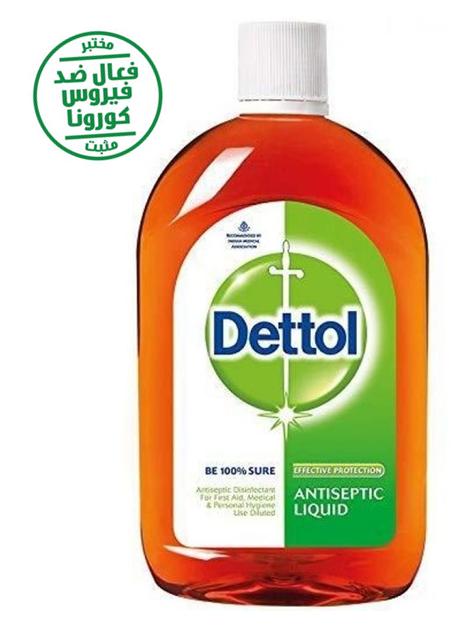 Dettol Antibactérien Antiseptique Désinfectant Liquide 500 ml   معقم دتول ضد كورونا