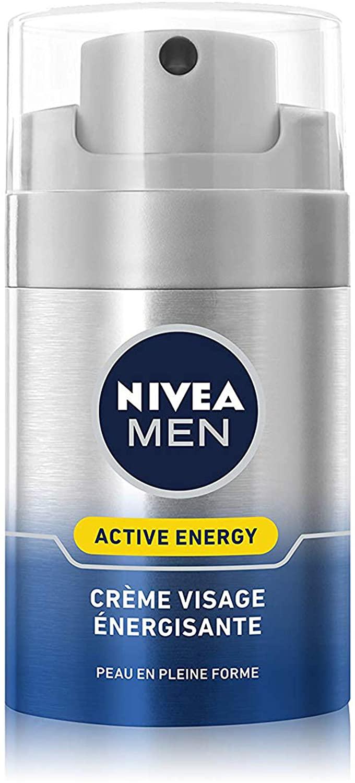 88813 NIVEA MEN Active Energy Crème Visage Énergisante Anti-Fatigue 50 ml