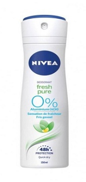 84528  Nivea Women Deospray - Fresh Pure - 0% aluminium - 200 ml