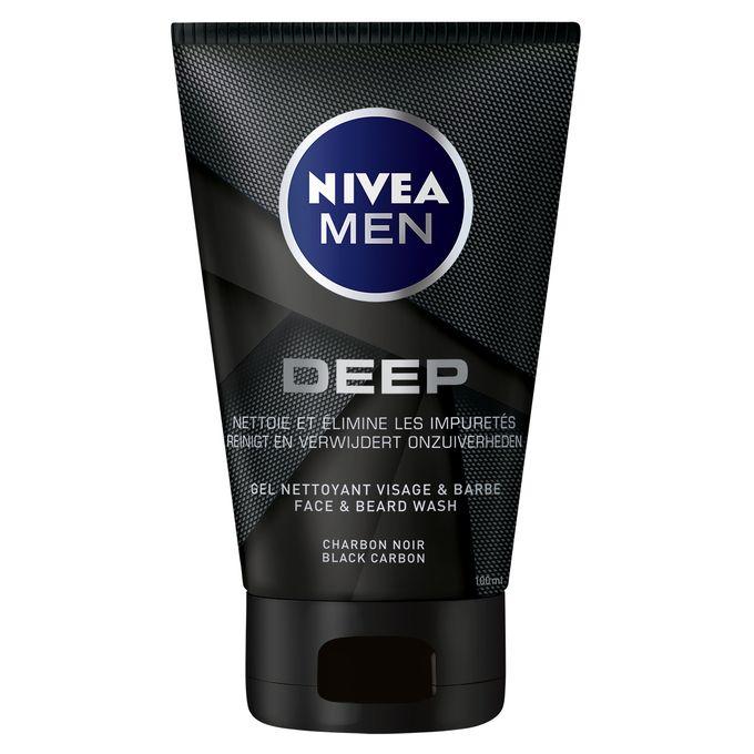 Nivea Men Gel nettoyant anti-impuretés homme DEEP 100 ml (Rupture de Stock)