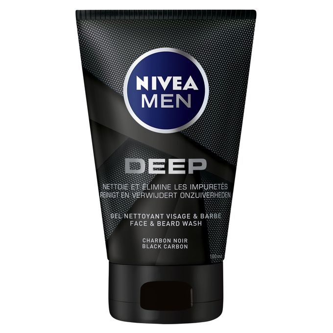 81787 Nivea Men Gel nettoyant anti-impuretés homme DEEP 100 ml (Rupture de Stock)