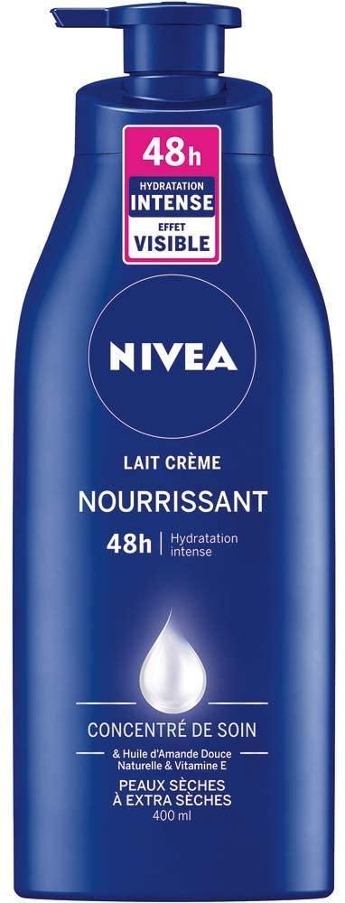 80204 NIVEA Lait Crème Nourrissant 48h 400 ml
