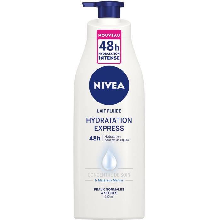83825 NIVEA Lait hydratation Express 400 ml