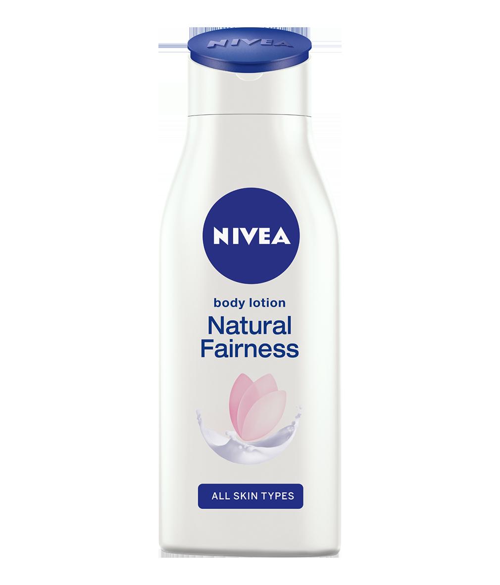 Nivea Lait De Corps Natural Clarifiant Eclaircissant  250  ml