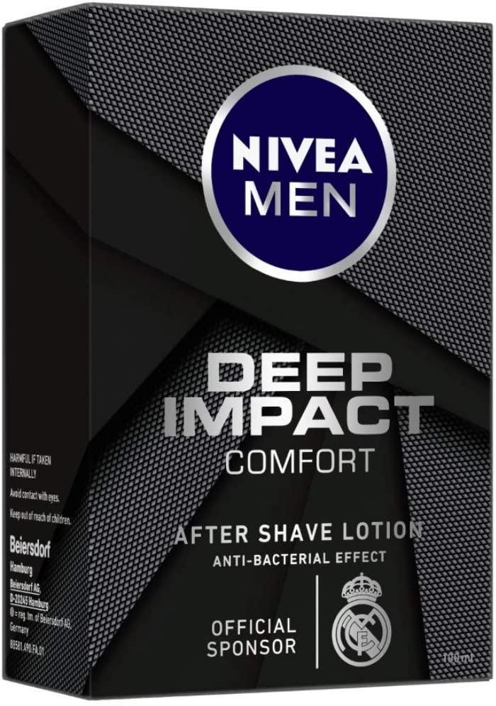 Nivea Hommes deep impact comfort lotion après-rasage 100 ml