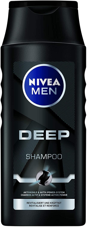88508 Nivea Men Shampoing DEEP 250 ml  شامبو الاستحمام  للرجل