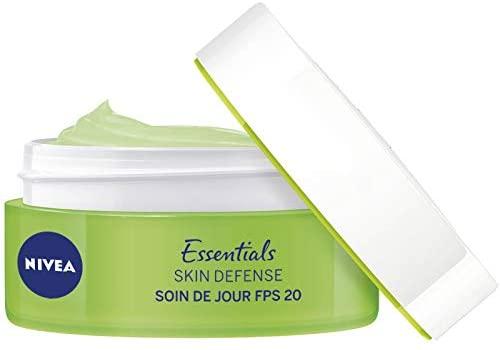 NIVEA Soin de Jour Skin Defense FPS20 + Hydratation intense 48H 50 ml