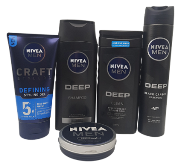 Pack Nivea DEEP Men