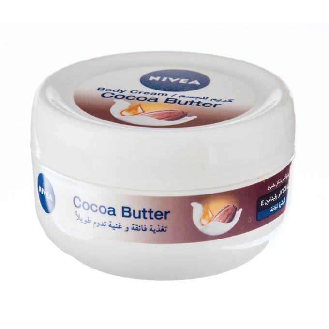 83839 NIVEA Crème CORPS BEURRE DE CACAO 200 ML Extra riche crème corps