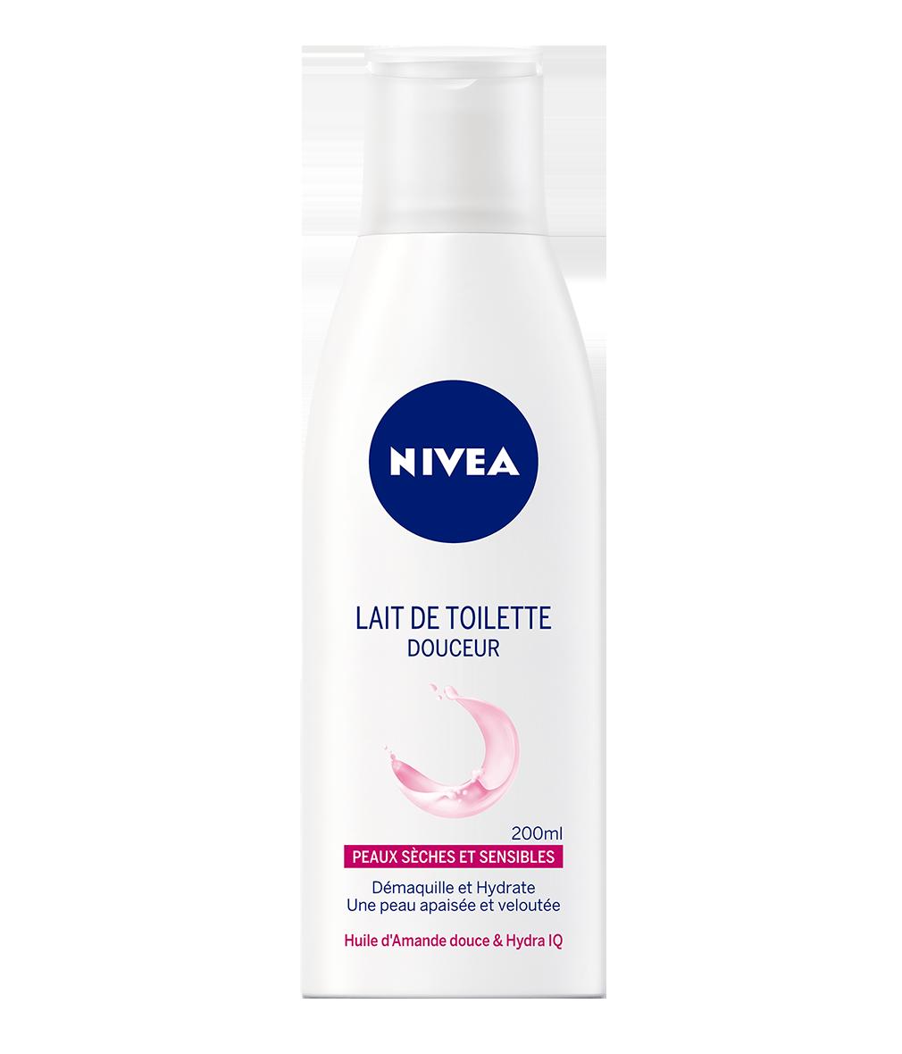 81103 NIVEA Lait de Toilette Douceur 200 ML حليب ناعم، المخصب بزيت اللوز