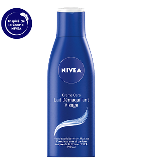 89250 Nivea Lait Démaquillant Visage Crème Care 200 ML  كريم وجه الحليب للتنظيف