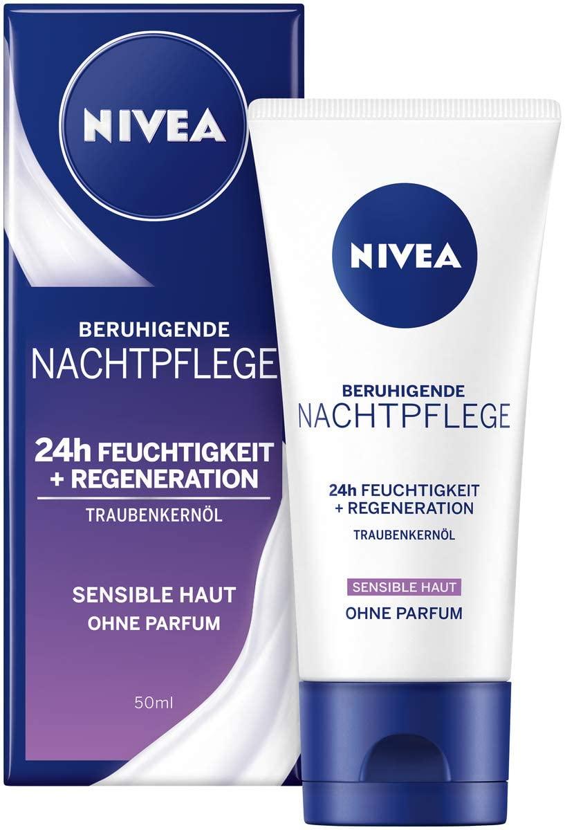 82348 Nivea Visage Soin de Nuit Sensible 50 ml